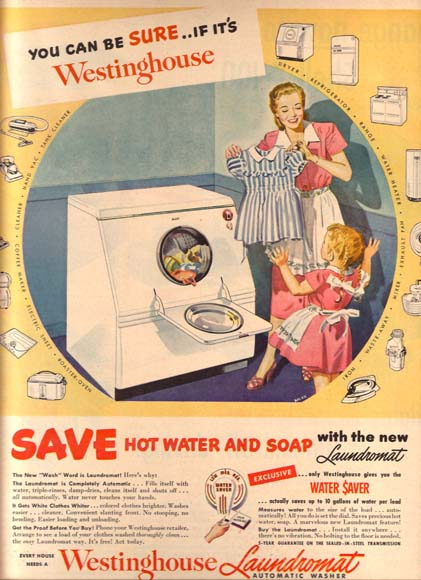 Laundry Appliance Ads