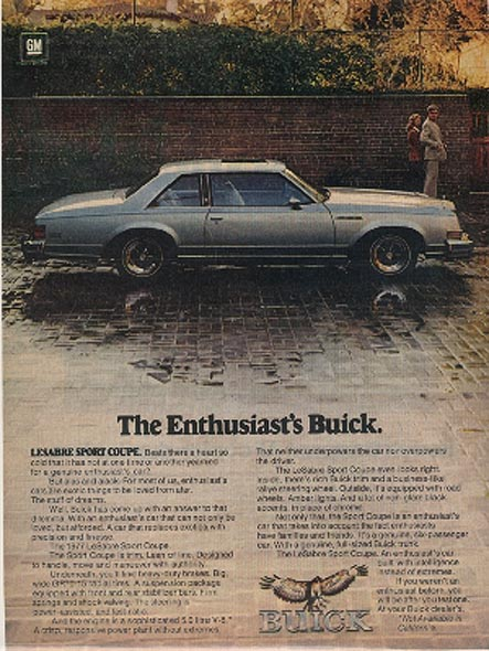 Viewbuickles on 1977 Buick Lesabre