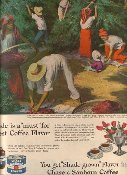 Cheaply got, chase sanborn coffee ad spank
