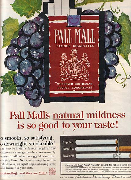Voorkeur Pall Mall cigarette ads ZQ-55