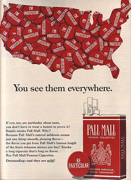 Genoeg Pall Mall cigarette ads YE-06