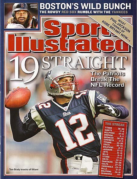 Tom Brady Cookbook Cover : Sports illustrated