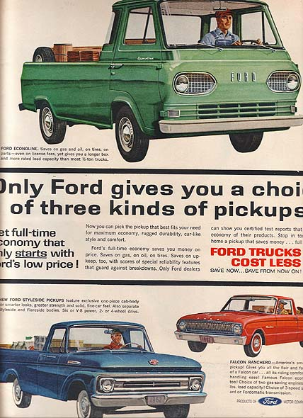 Ford Truck ads