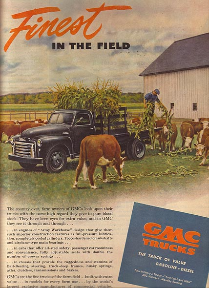 Gmc Pickup Trucks >> GMC Truck ads