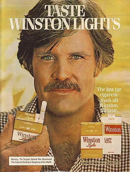 Winston Cigarette Ads